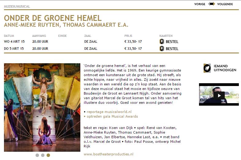 Musicals in Utrecht
