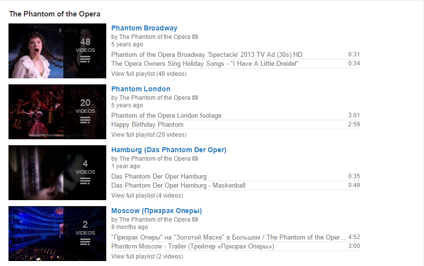 The Phantom of the Opera - The Official YouTube Channel