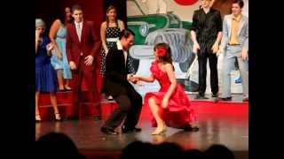 Erica Gavan as Cha-Cha in OHS Grease Production 2012