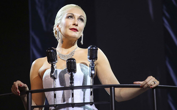 Evita, Dominion Theatre, review: an 'air of hollowness' - Telegraph