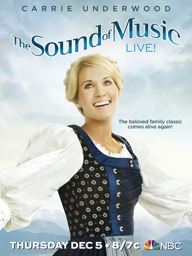 The Sound of Music, Live! First Look: Check Out Carrie Underwood ...