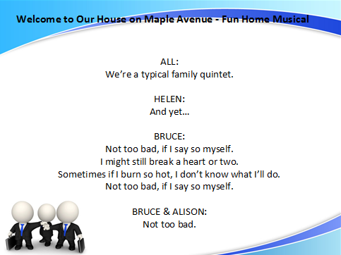 Welcome to our House on Maple Avenue