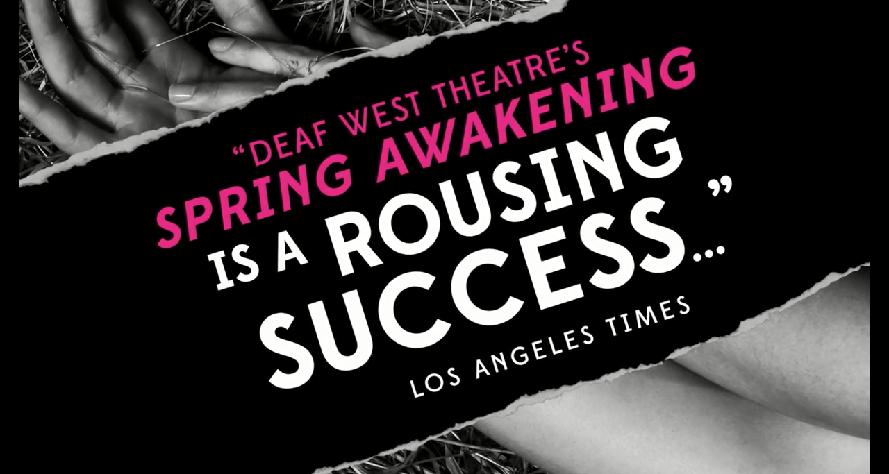 Spring Awakening in Broadway