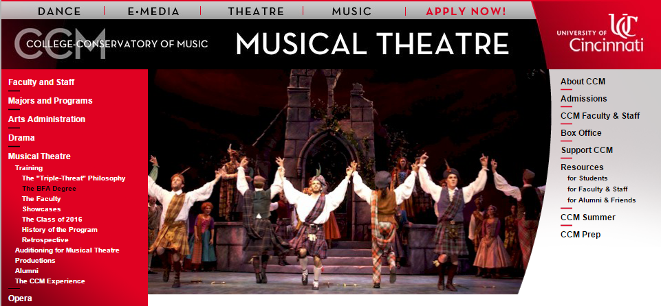 Musical Theater Colleges in Ohio