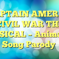 ♪ CAPTAIN AMERICA: CIVIL WAR THE MUSICAL – Animated Song Parody