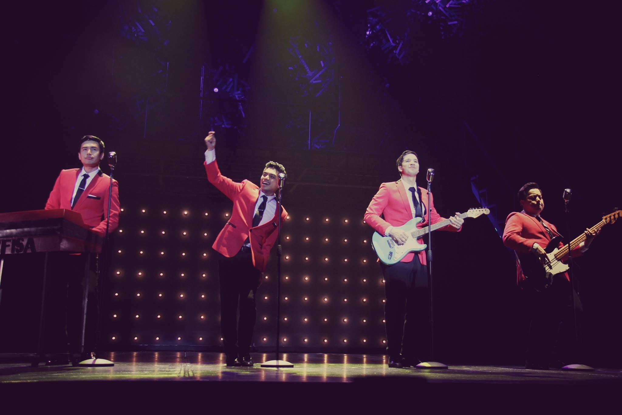 Jersey Boys in Manila
