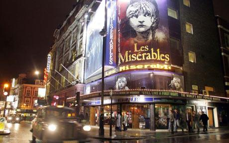 West End theatres escapes worst of credit crisis - Telegraph