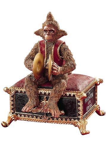 Phantom of the Opera Music Boxes - Phantom Monkey